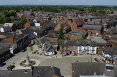 Sandbach Cobbles from St Mary Towers