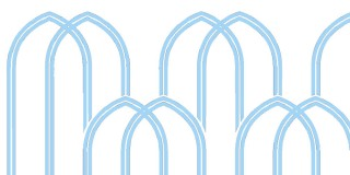 Arches: Light blue