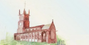 St Mary's Watercolour