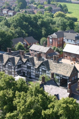 Old Hall from the Tower