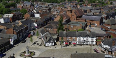 Sandbach Cobbles from St Mary's